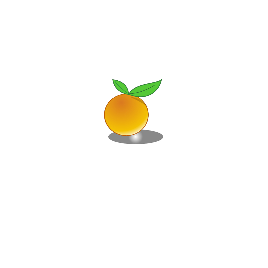 Orange Slice SVG Clip arts