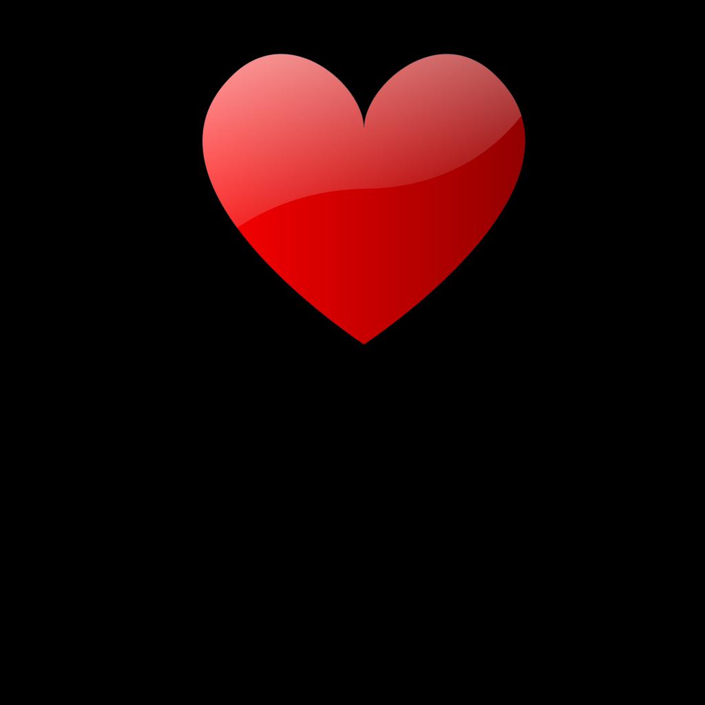 Teddy Bears With Hearts SVG Clip arts