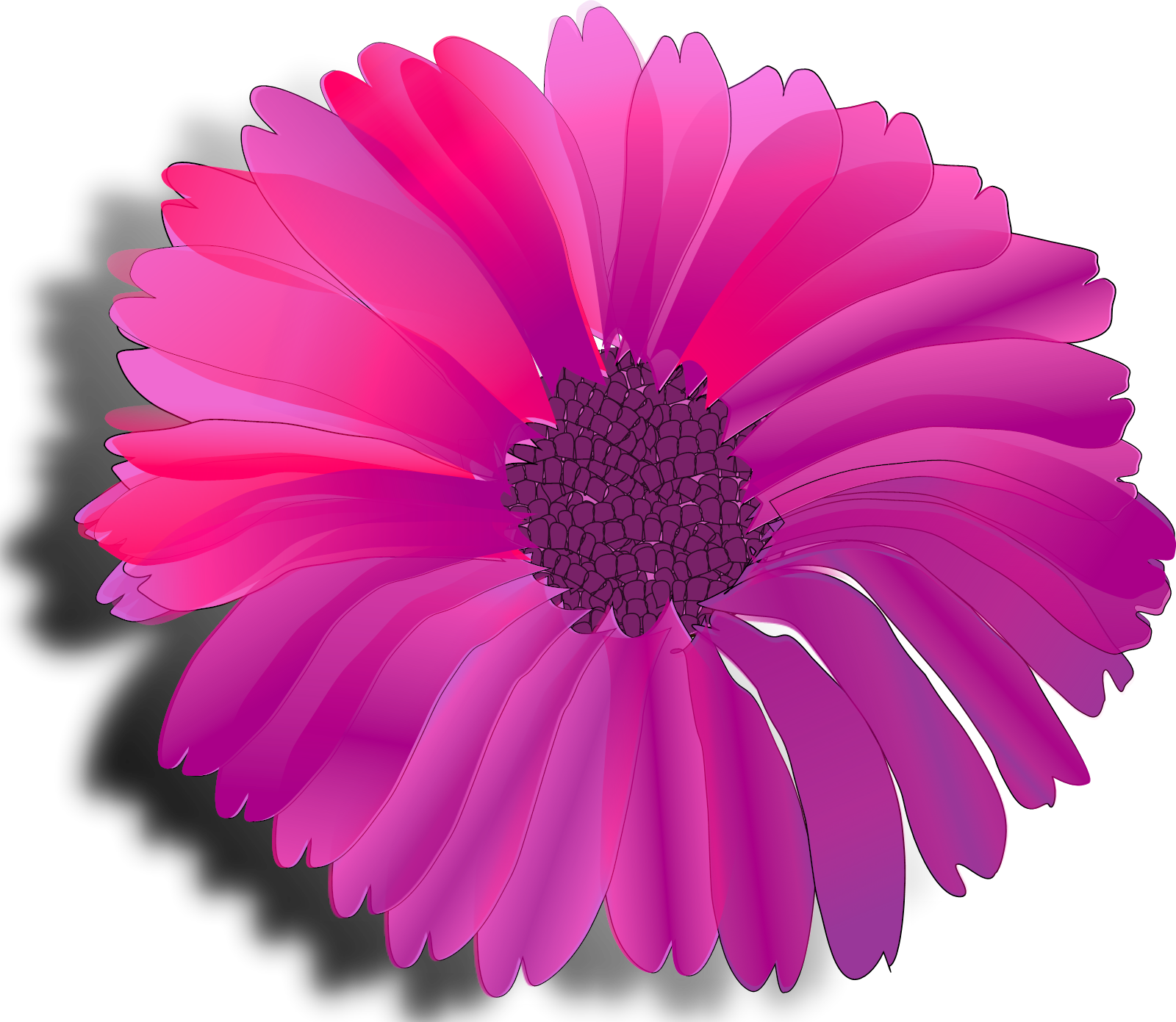 Pink Blue Chevron SVG Clip arts