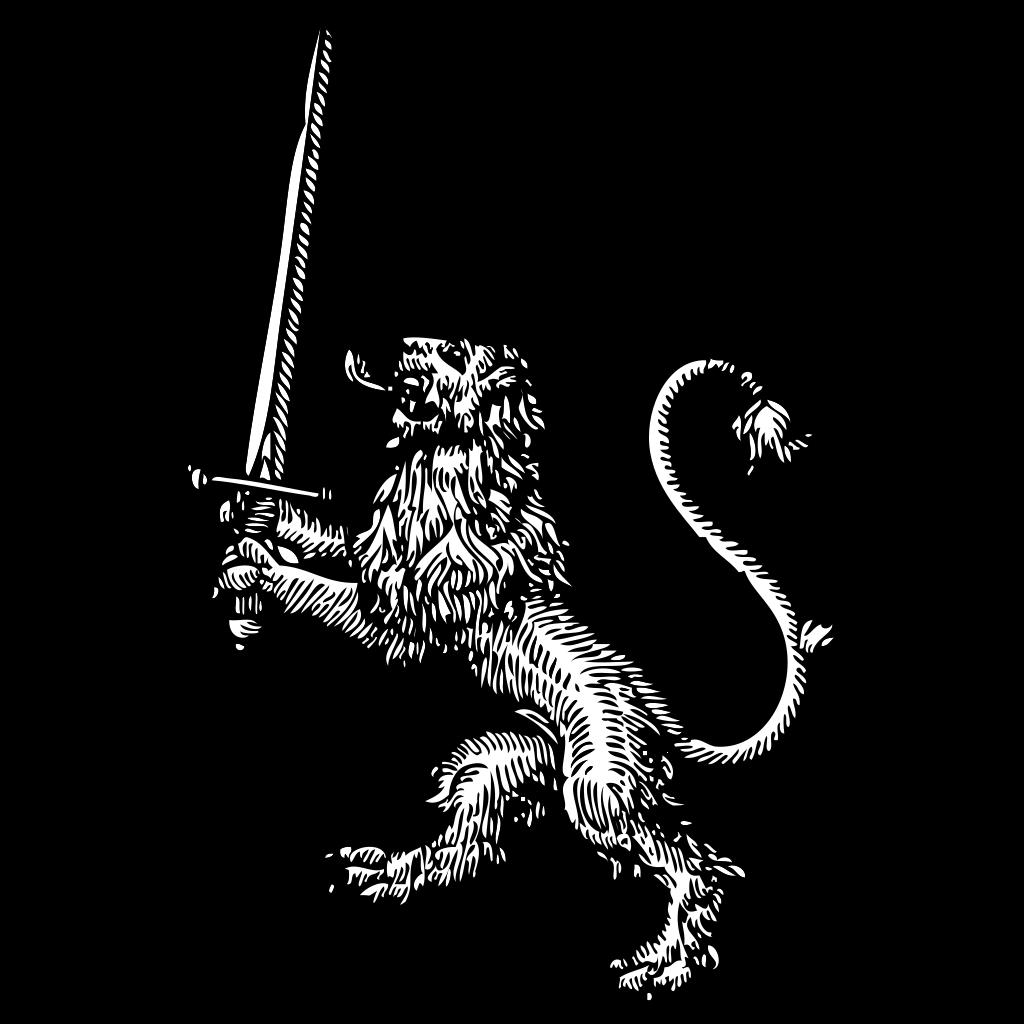 Lion 3 SVG Clip arts