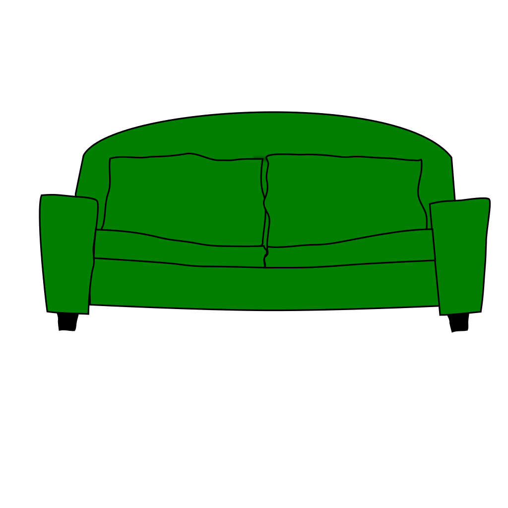Sofa SVG Clip arts