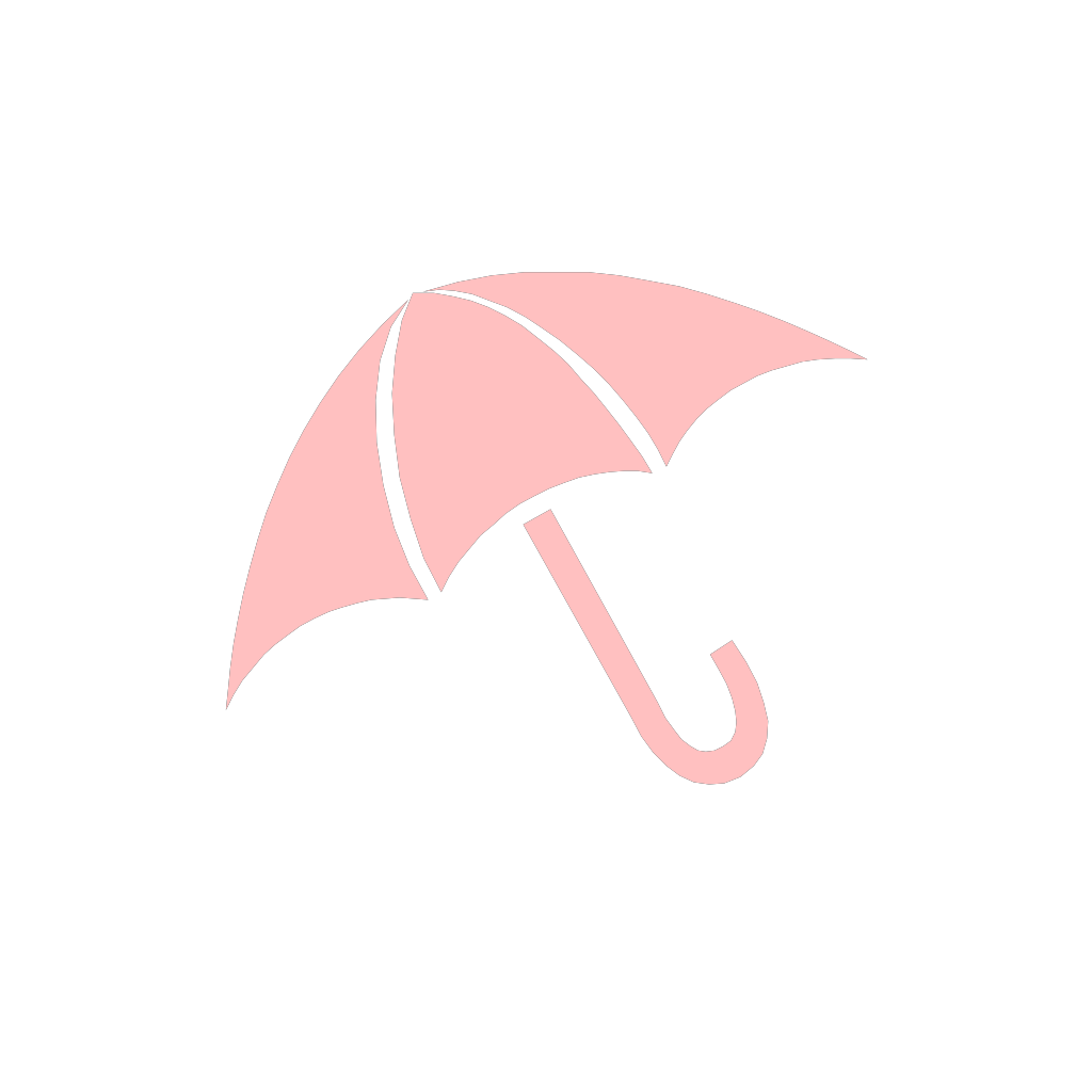 Umbrella SVG Clip arts