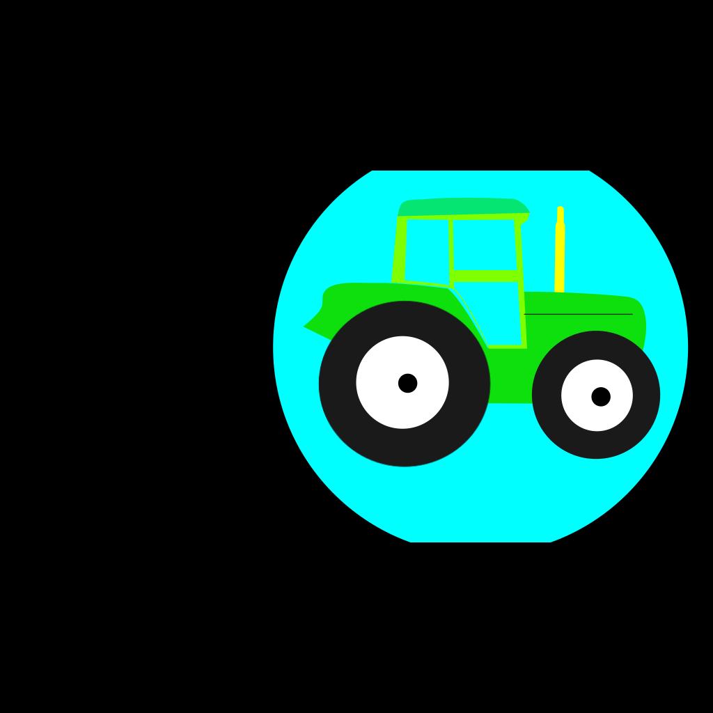 Tractor SVG Clip arts