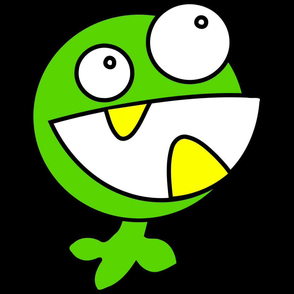 Green Monster SVG Clip arts