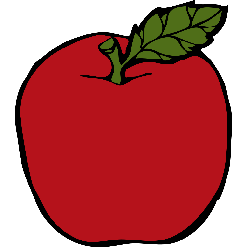 Apple SVG Clip arts