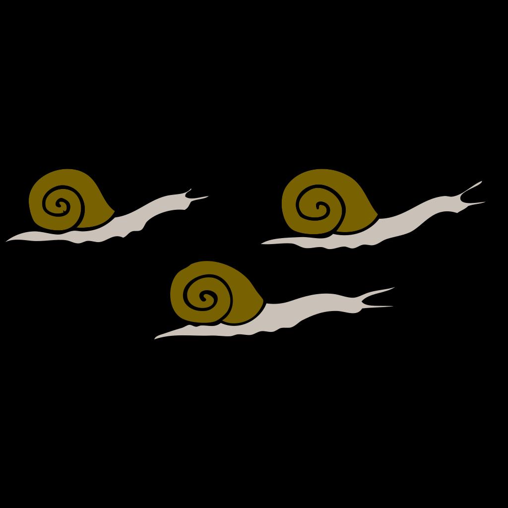Snails SVG Clip arts