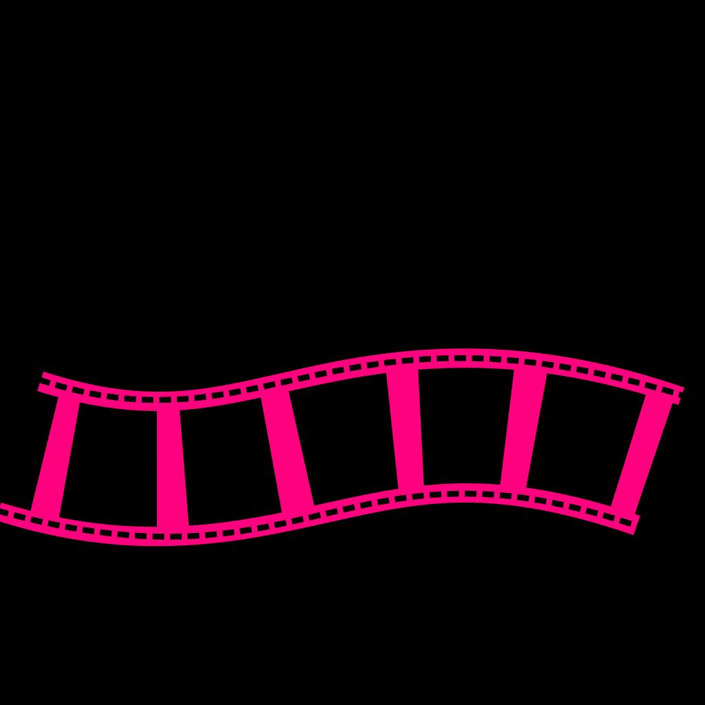 Film Strip Bleu SVG Clip arts