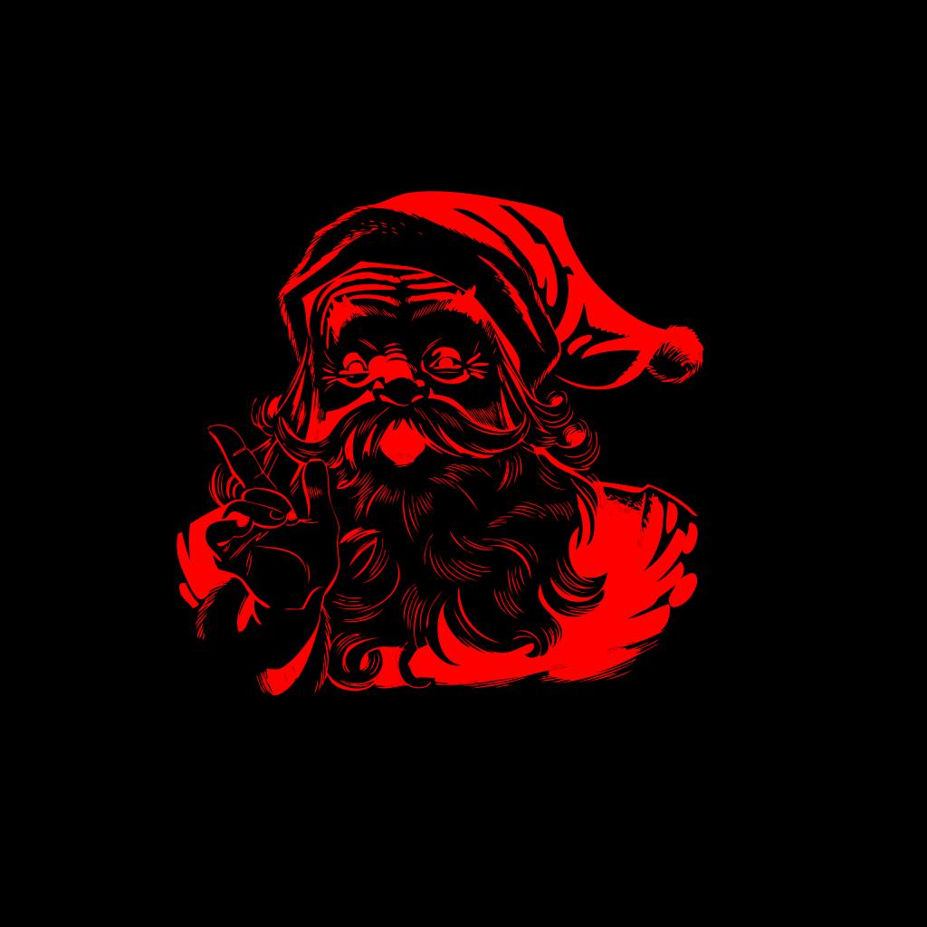 Santa SVG Clip arts