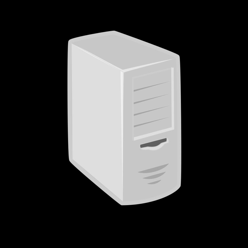 Linux Server SVG Clip arts