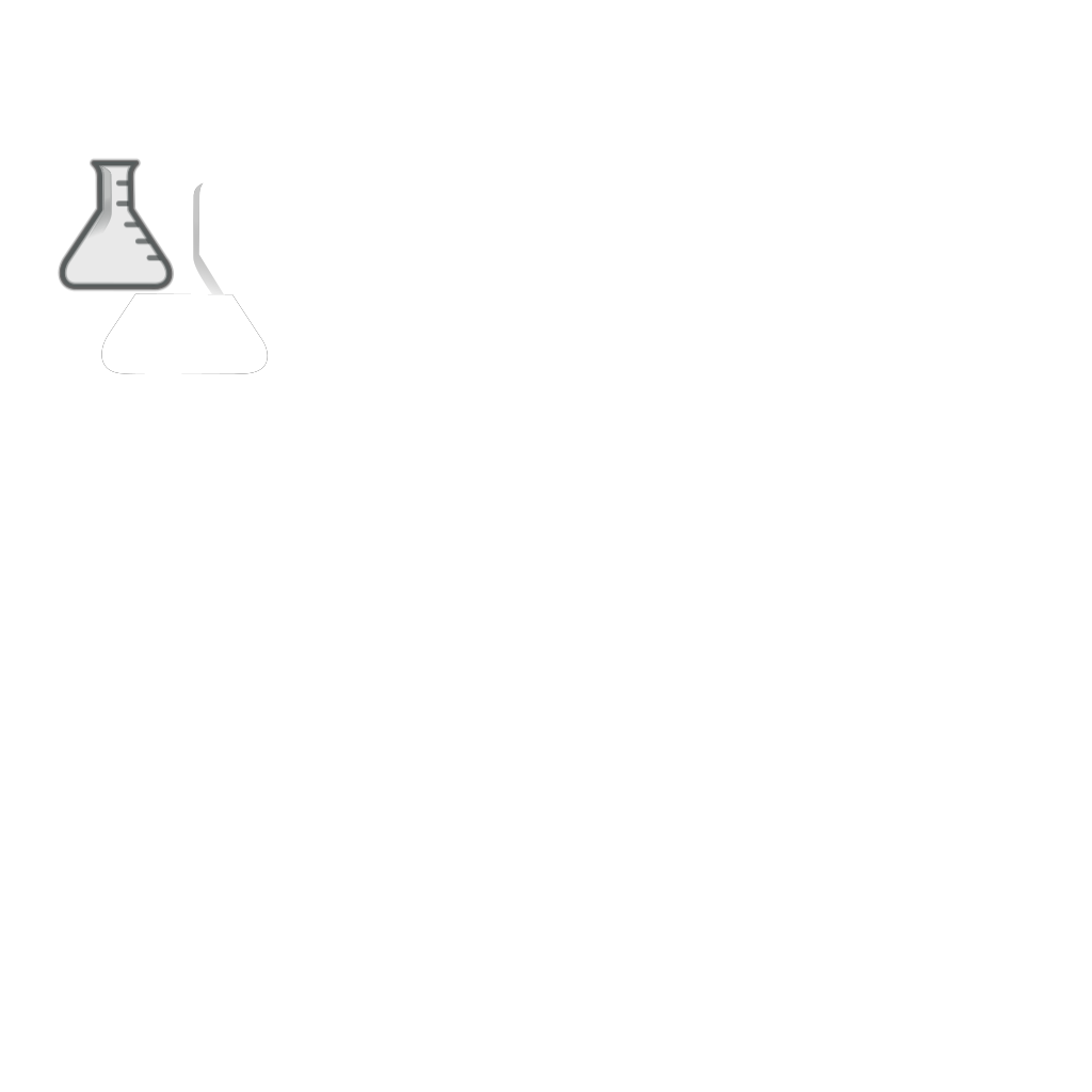 Empty Flask SVG Clip arts