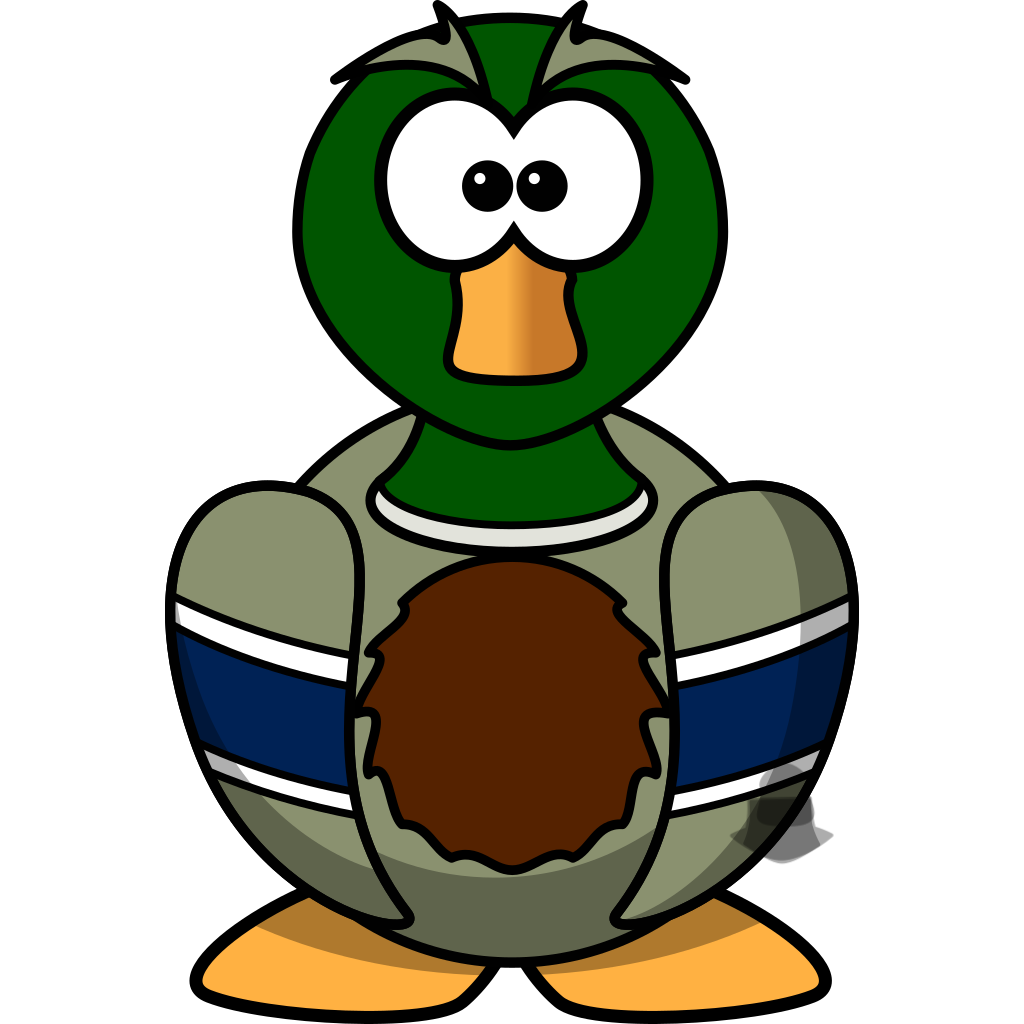 Cartoon Duck SVG Downloads - Animated - Download vector clip art ...
