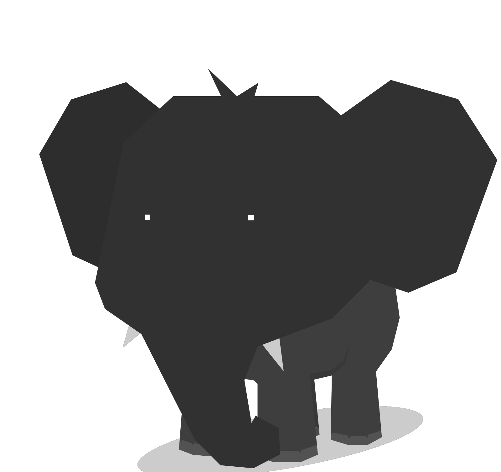 Elephant SVG Clip arts