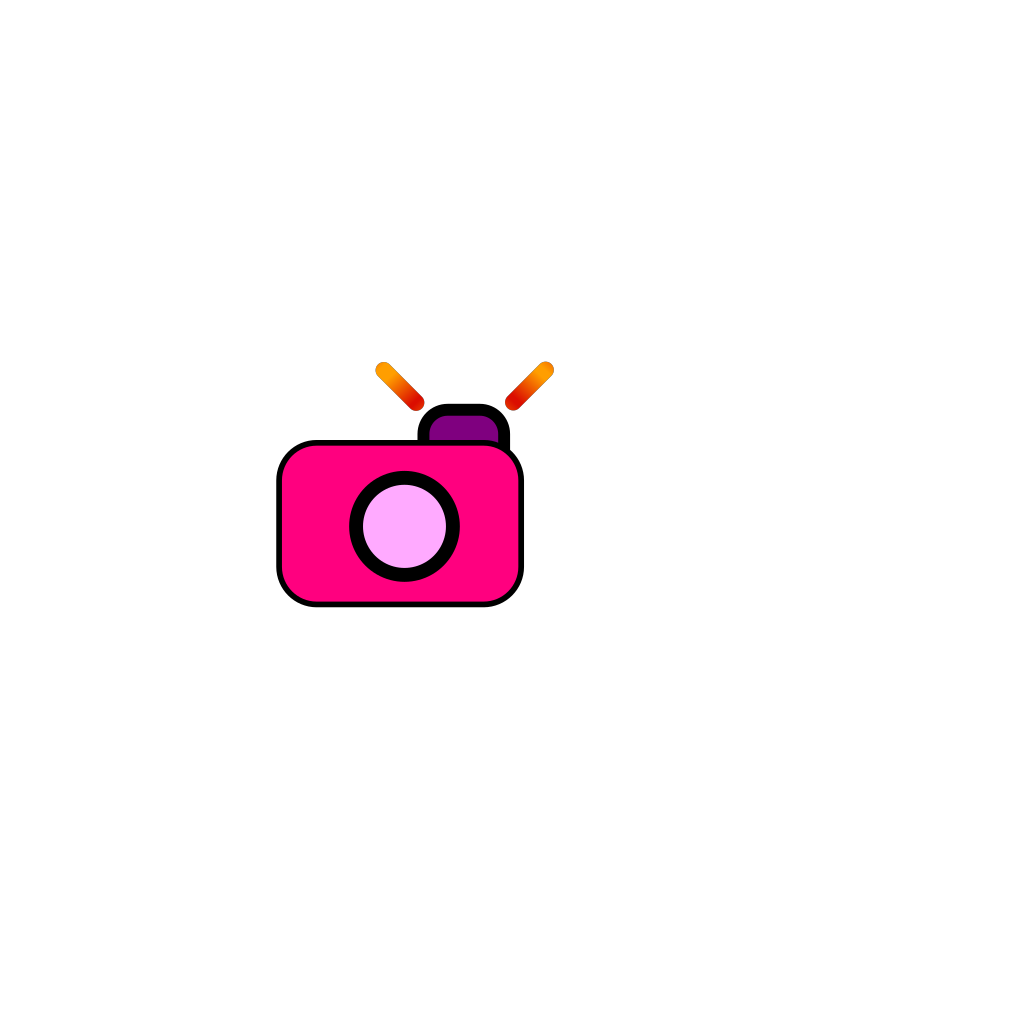 Cartoon Camera SVG Clip arts