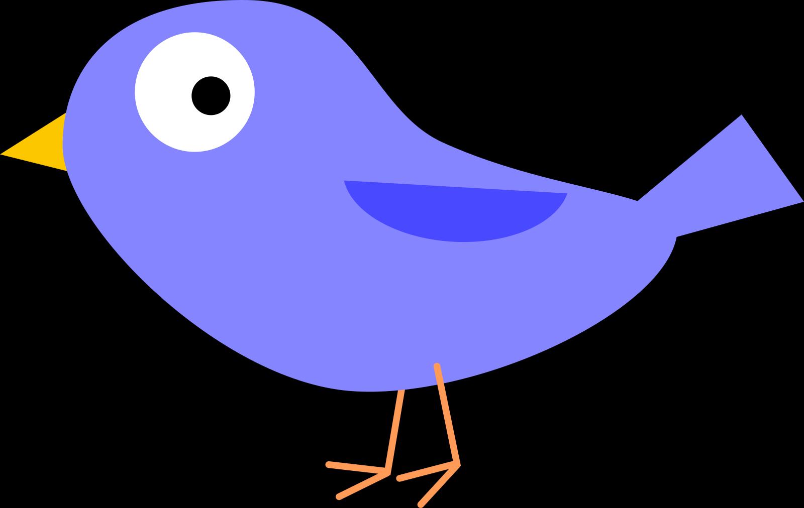 Blue Bird SVG Clip arts