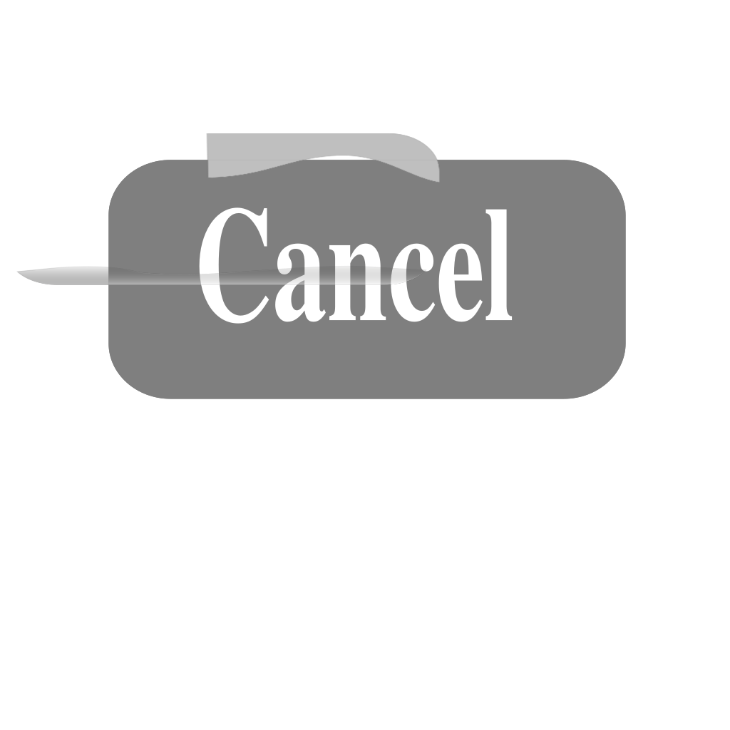 Cancel Button SVG Clip arts