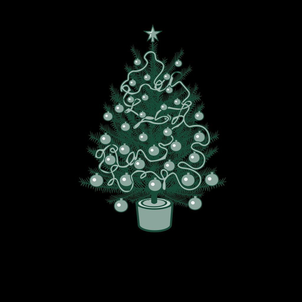 Christmas Tree SVG Clip arts