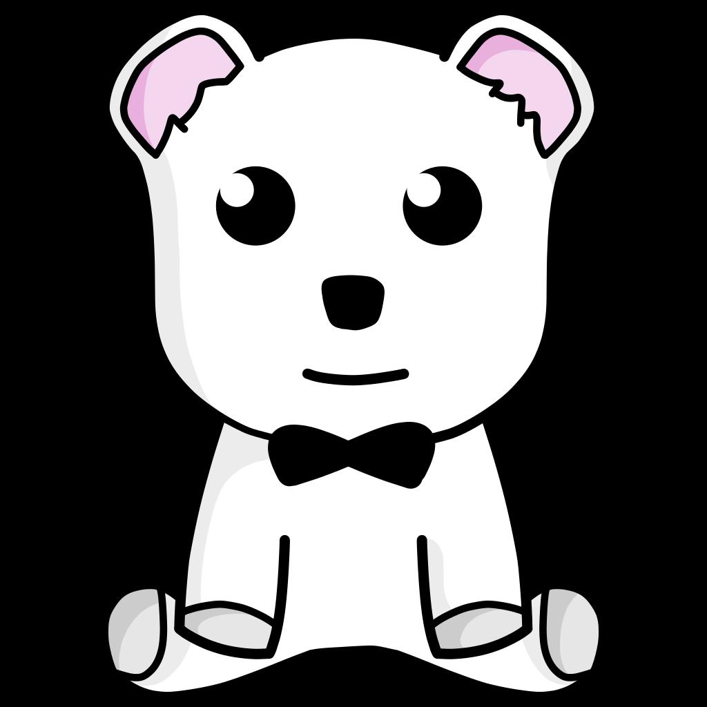 Brown Cute Teddy Bear SVG Clip arts