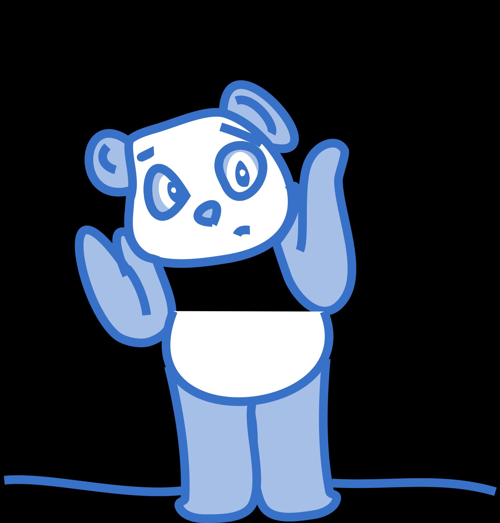 Blue White Cartoon Foot SVG Clip arts