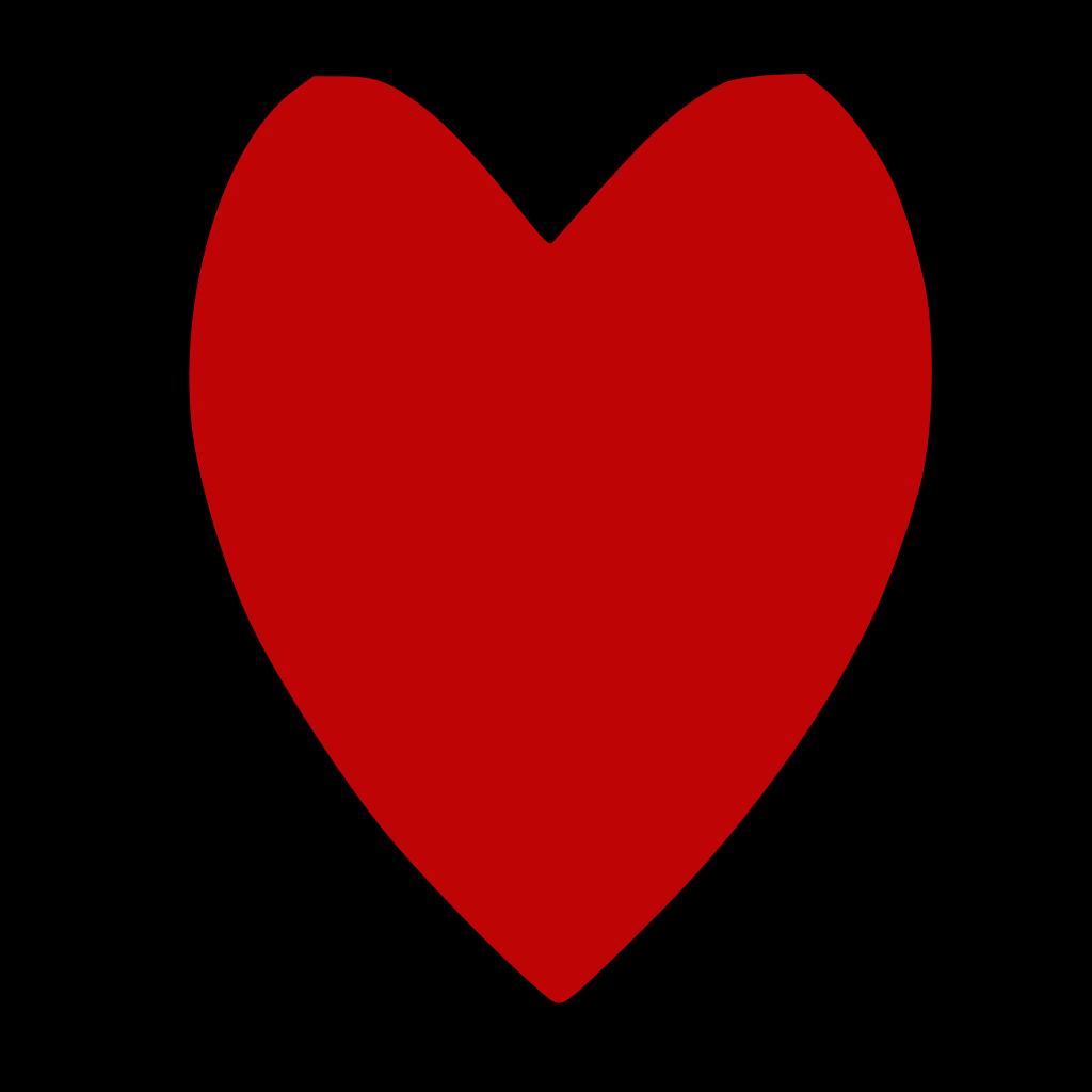 Aqua Blue Heart SVG Clip arts