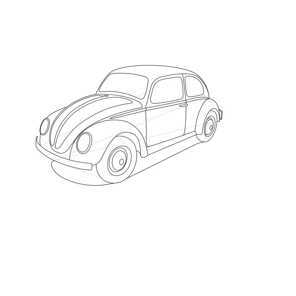 Beetle Bug SVG Clip arts
