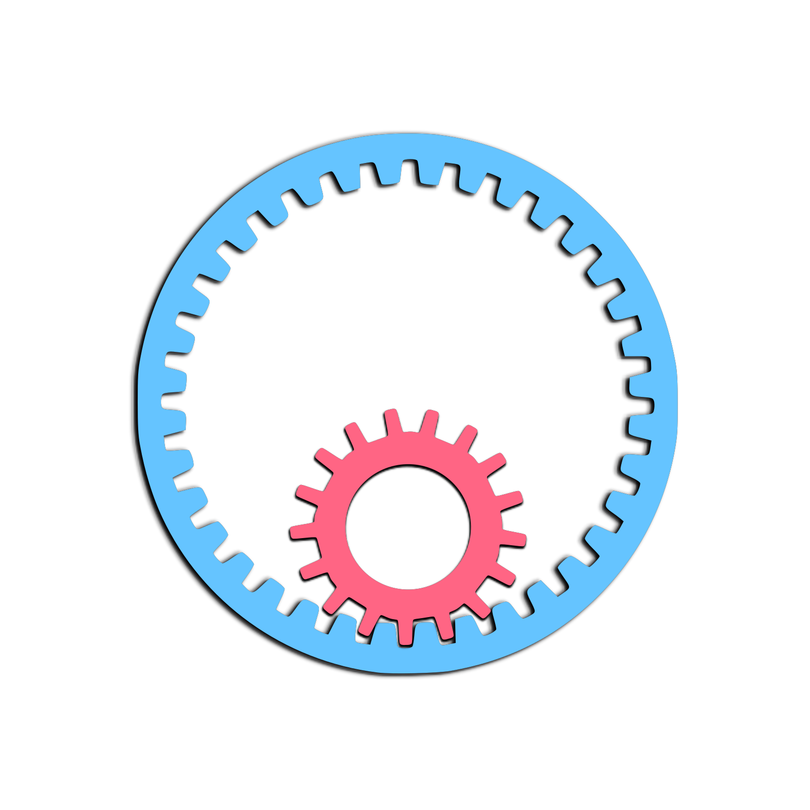 Gear Piece SVG Clip arts