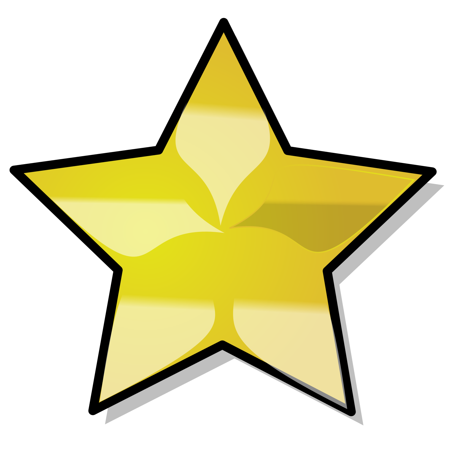 Navy Blue Star Emblem SVG Clip arts