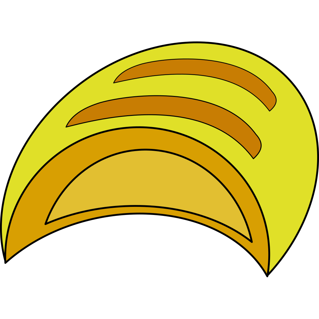 Bread Blue SVG Clip arts