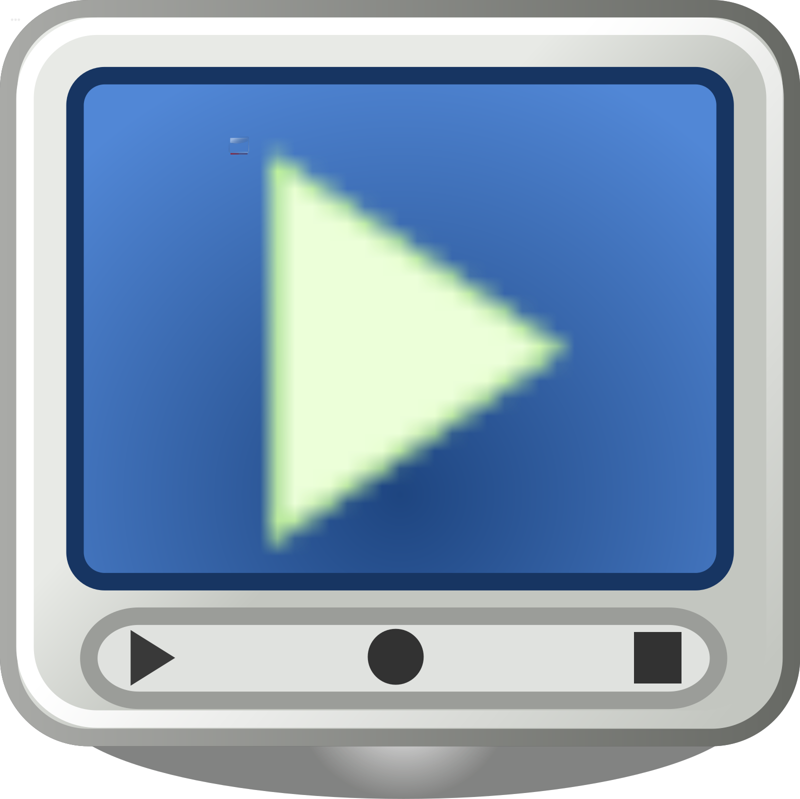 Video Out Call Icon SVG Clip arts