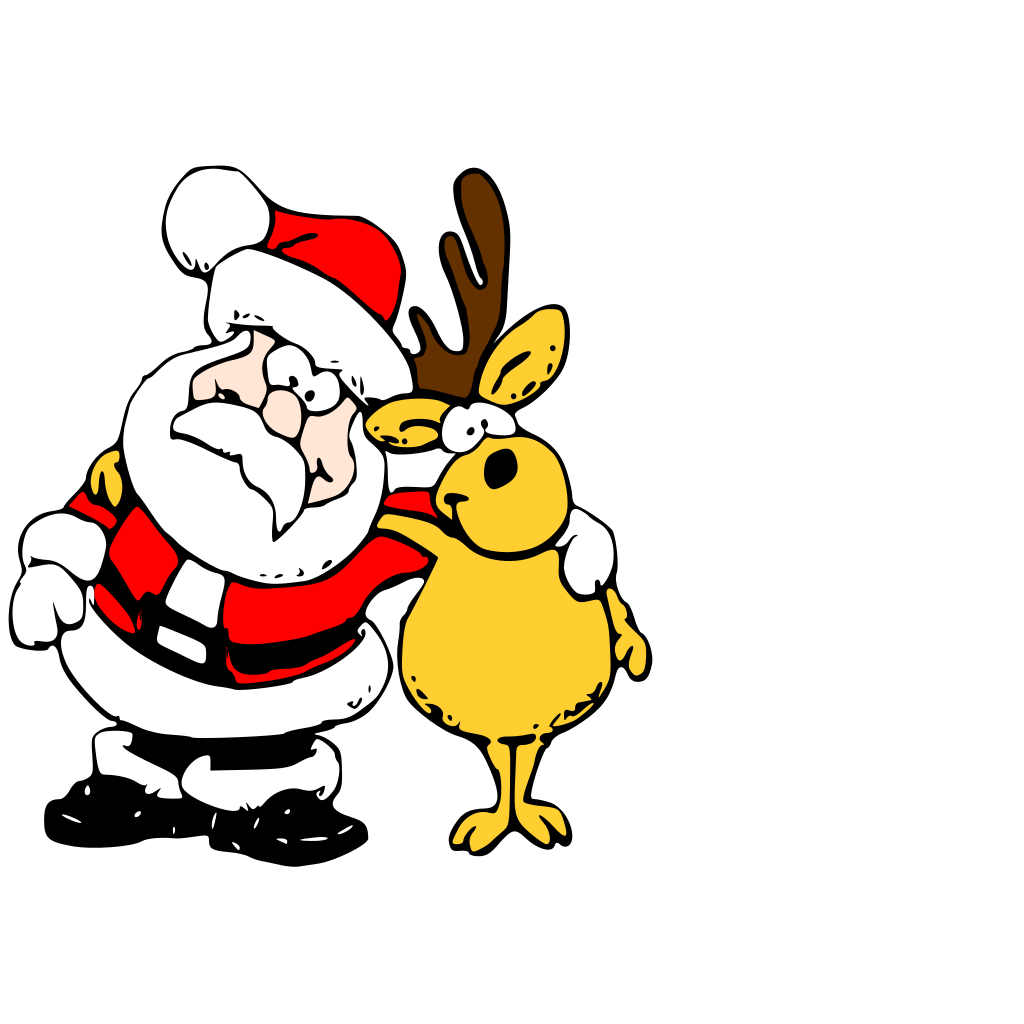 Make A Santa List SVG Clip arts