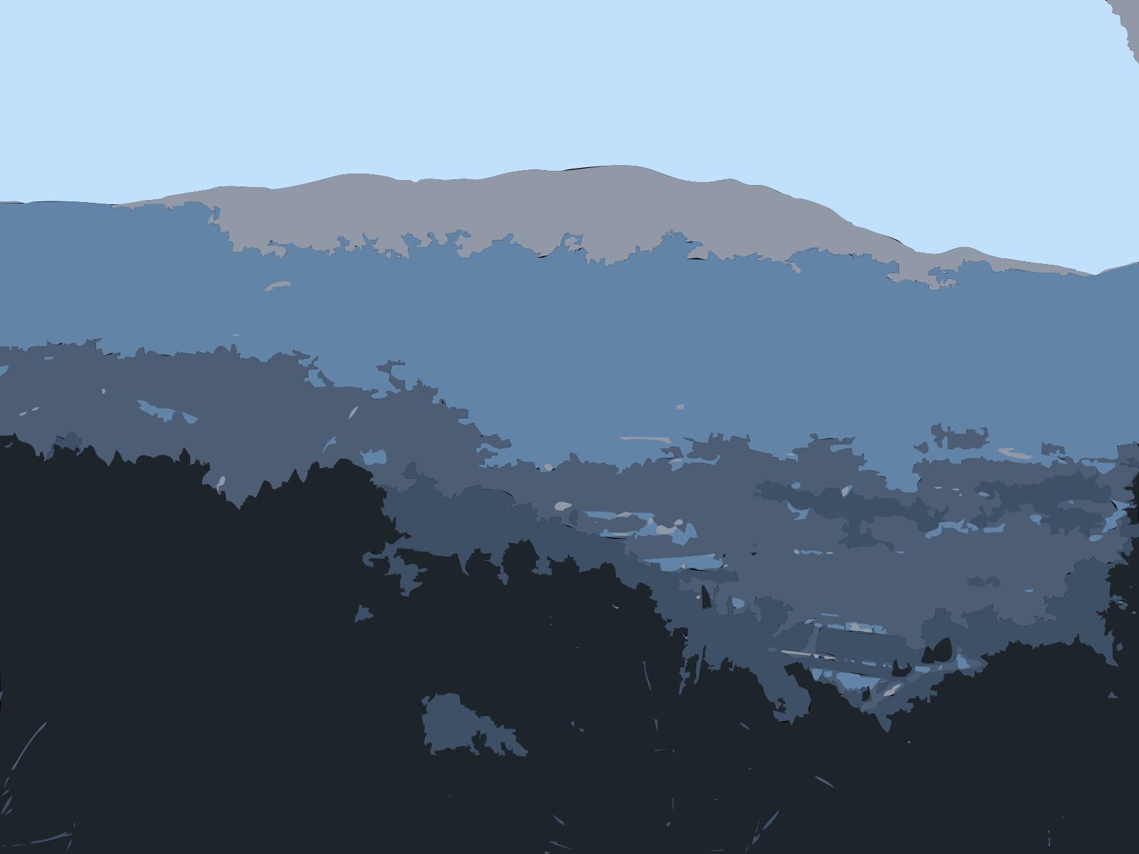 My Blue Path SVG Clip arts