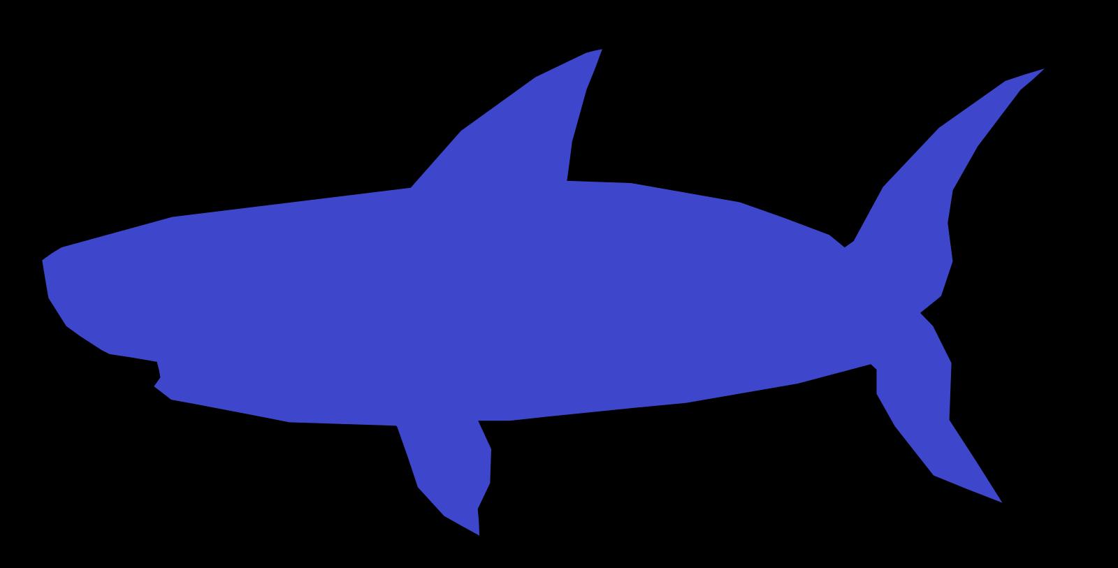Shark SVG Clip arts