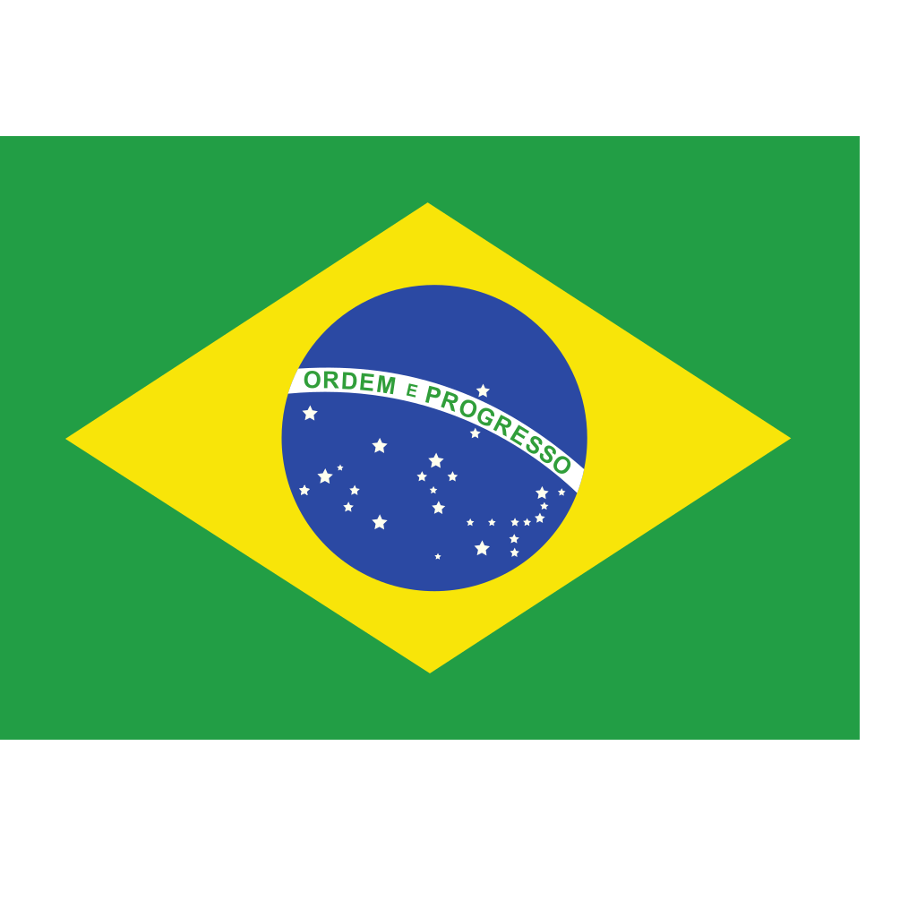 Map Brazil SVG Clip arts
