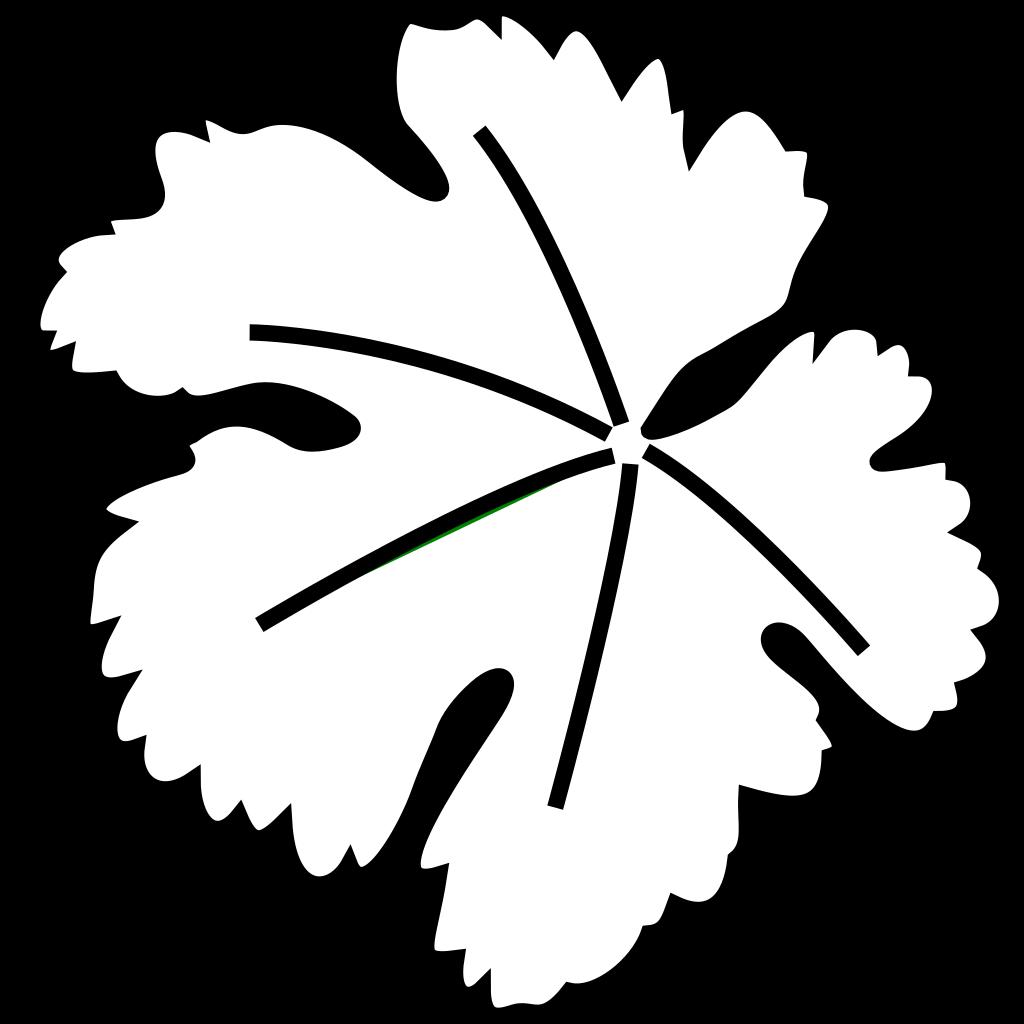 Leaf Border SVG Clip arts