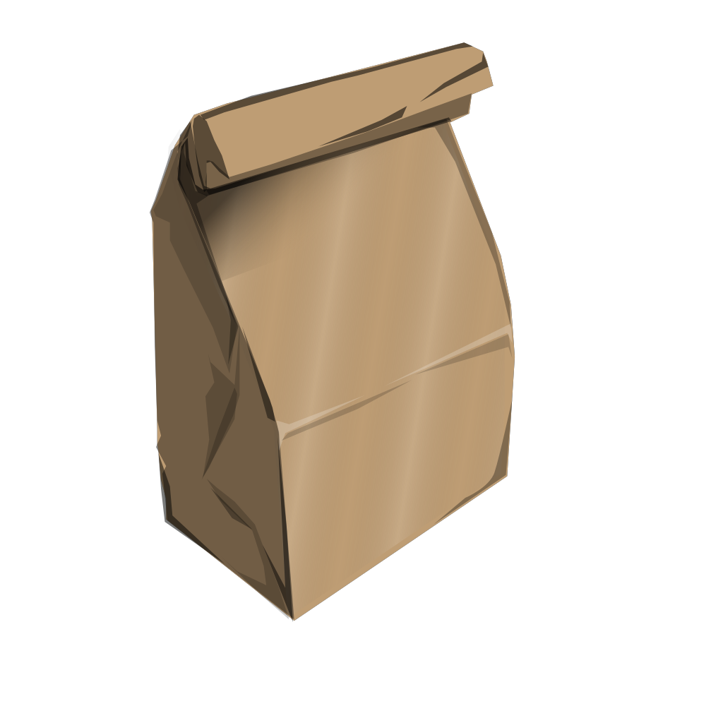 Paperbag SVG Clip arts