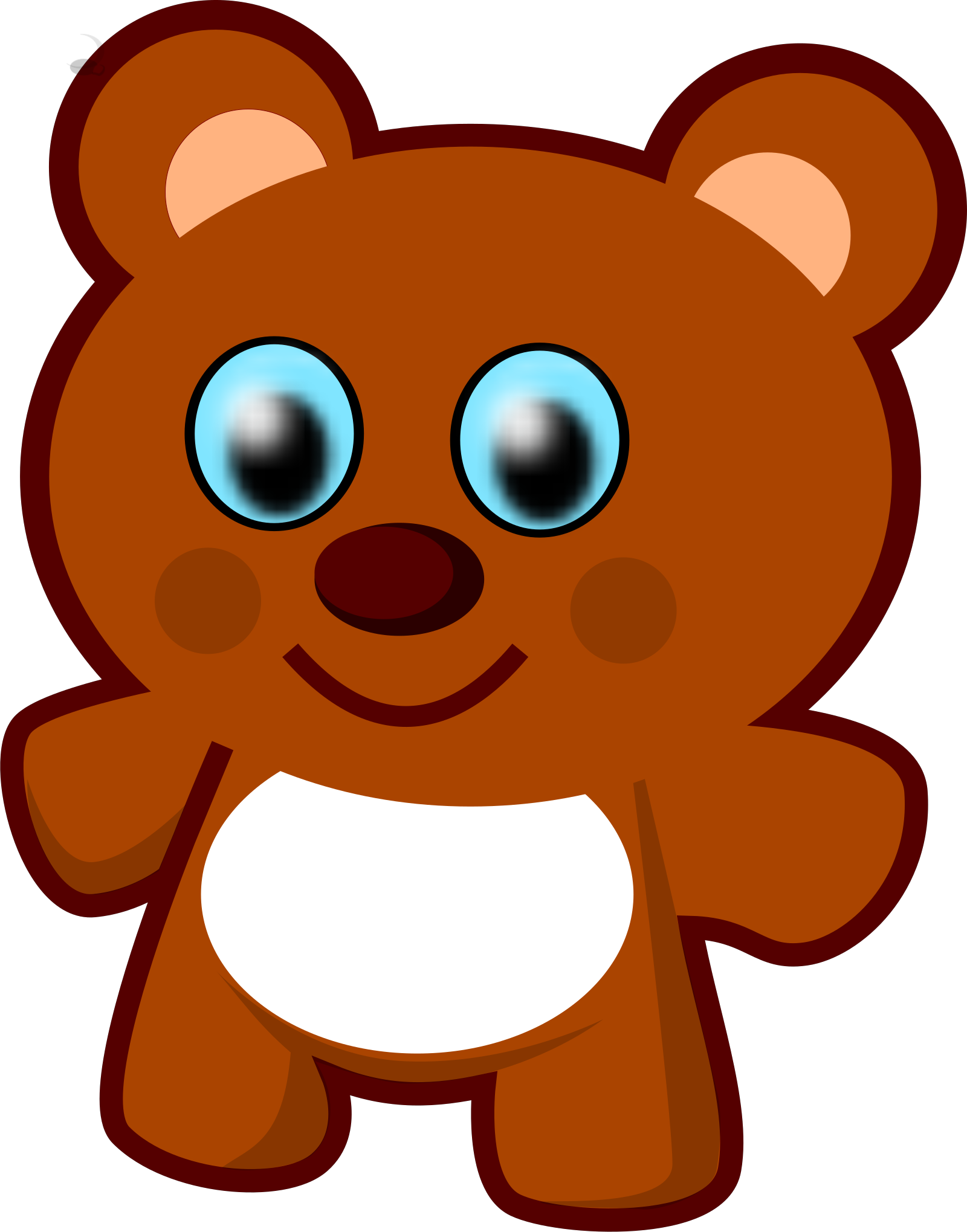 Teddy Bear SVG Clip arts