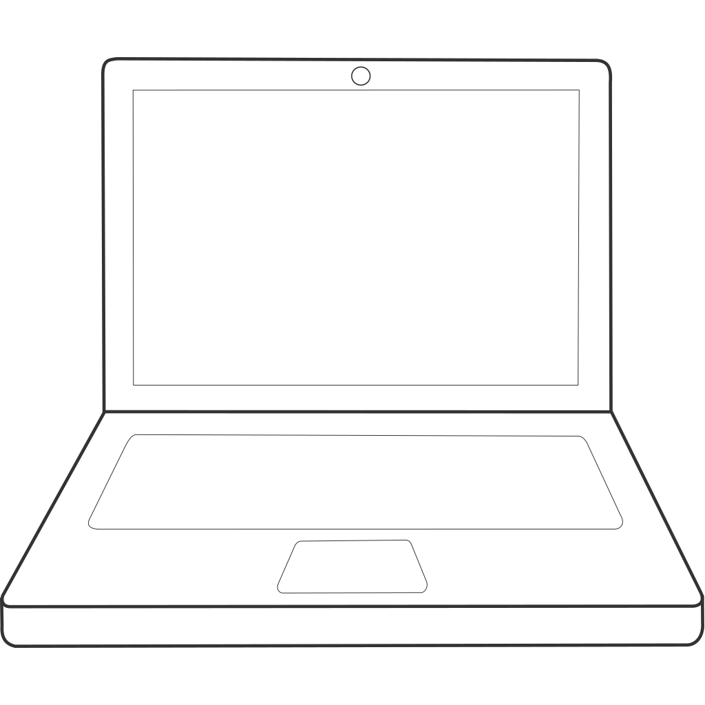 Laptop  SVG Clip arts