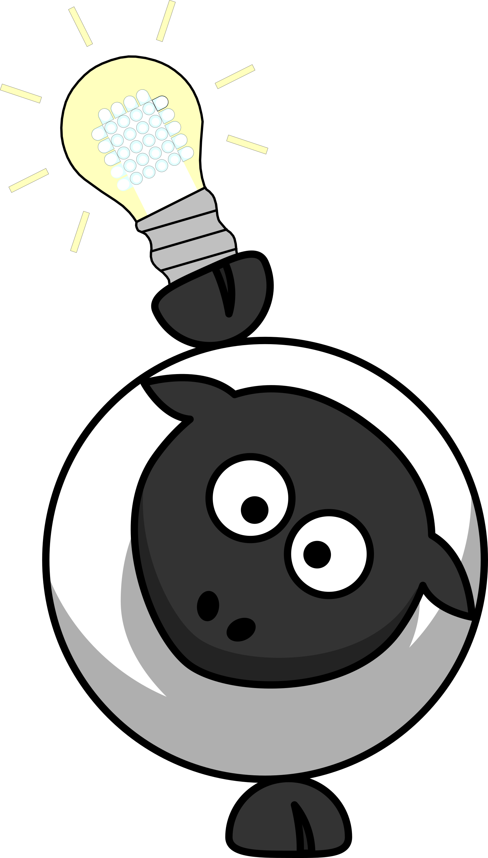 Sheep SVG Clip arts
