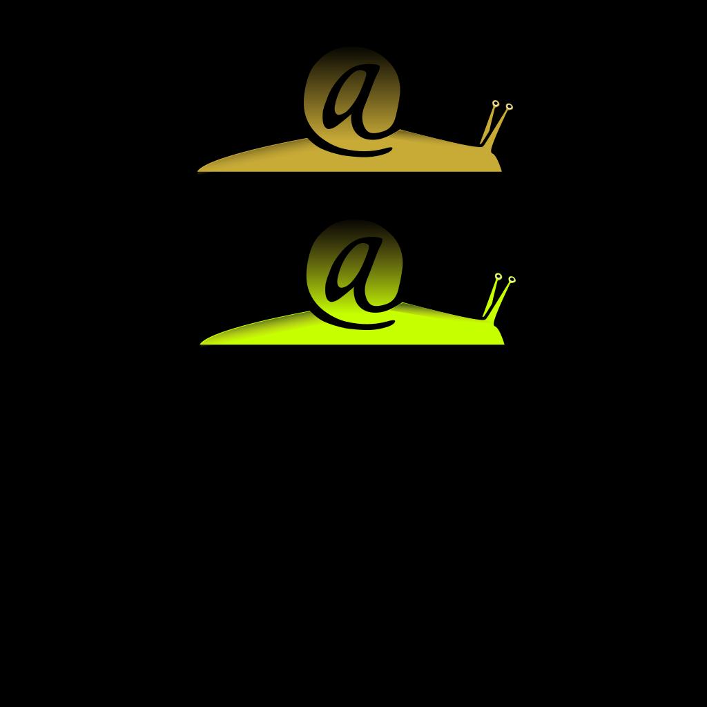 Snail Mail SVG Clip arts