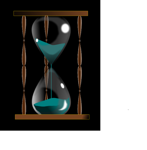 Hourglass SVG Clip arts