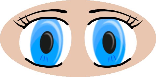 Anime Eyes SVG Clip arts