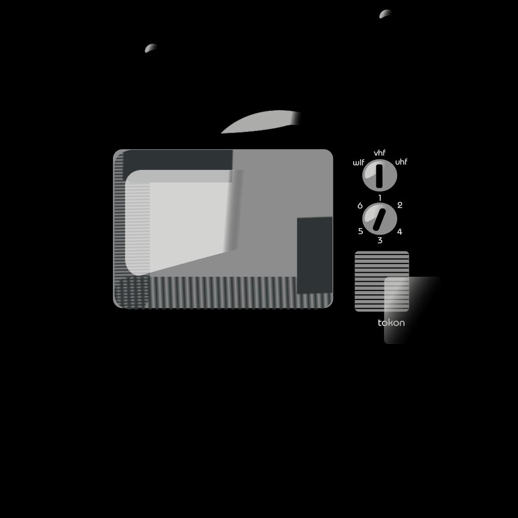 Old Tv SVG Clip arts