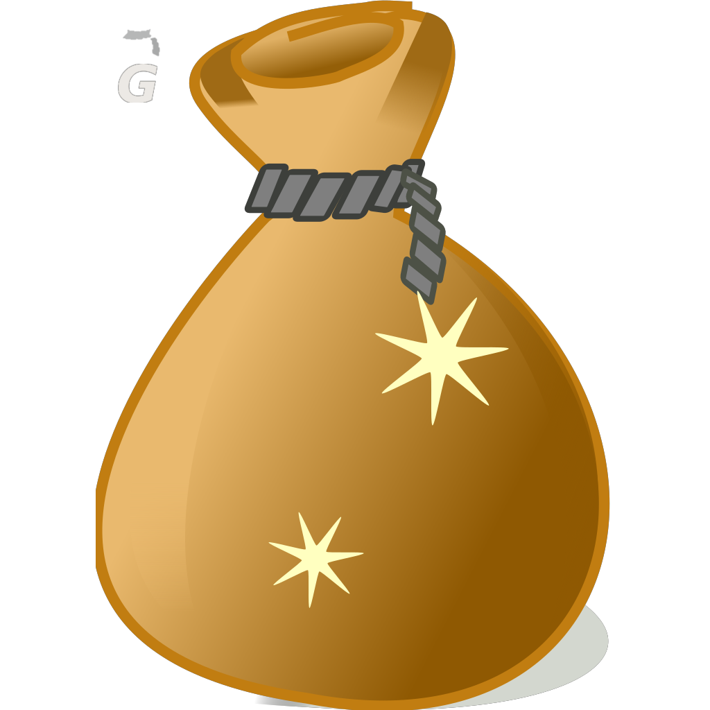 Money Bag2 SVG Clip arts