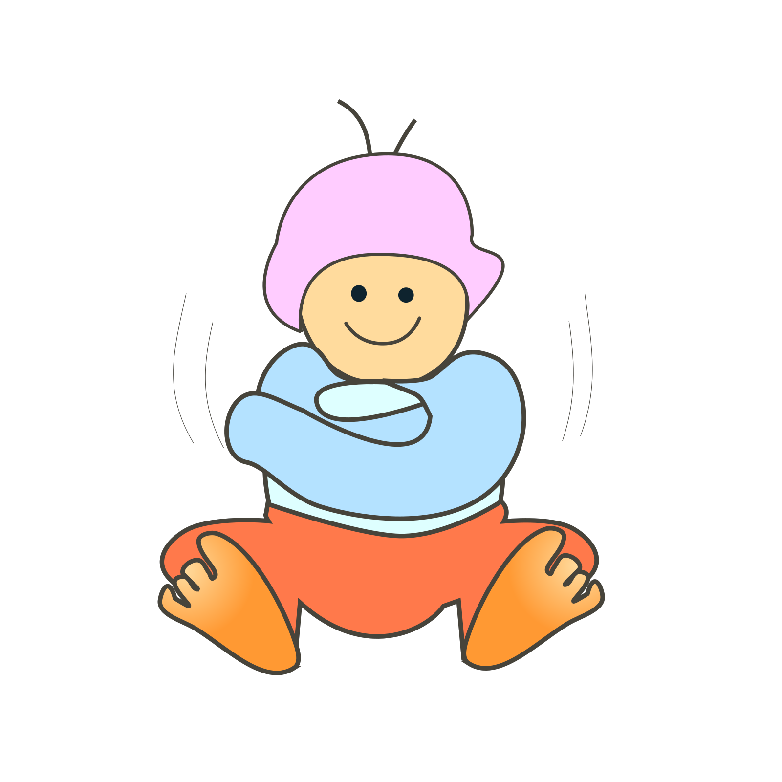 Sitting Baby Clipart Baby Boy Clip Art Image Provided - EpiCentro Festival