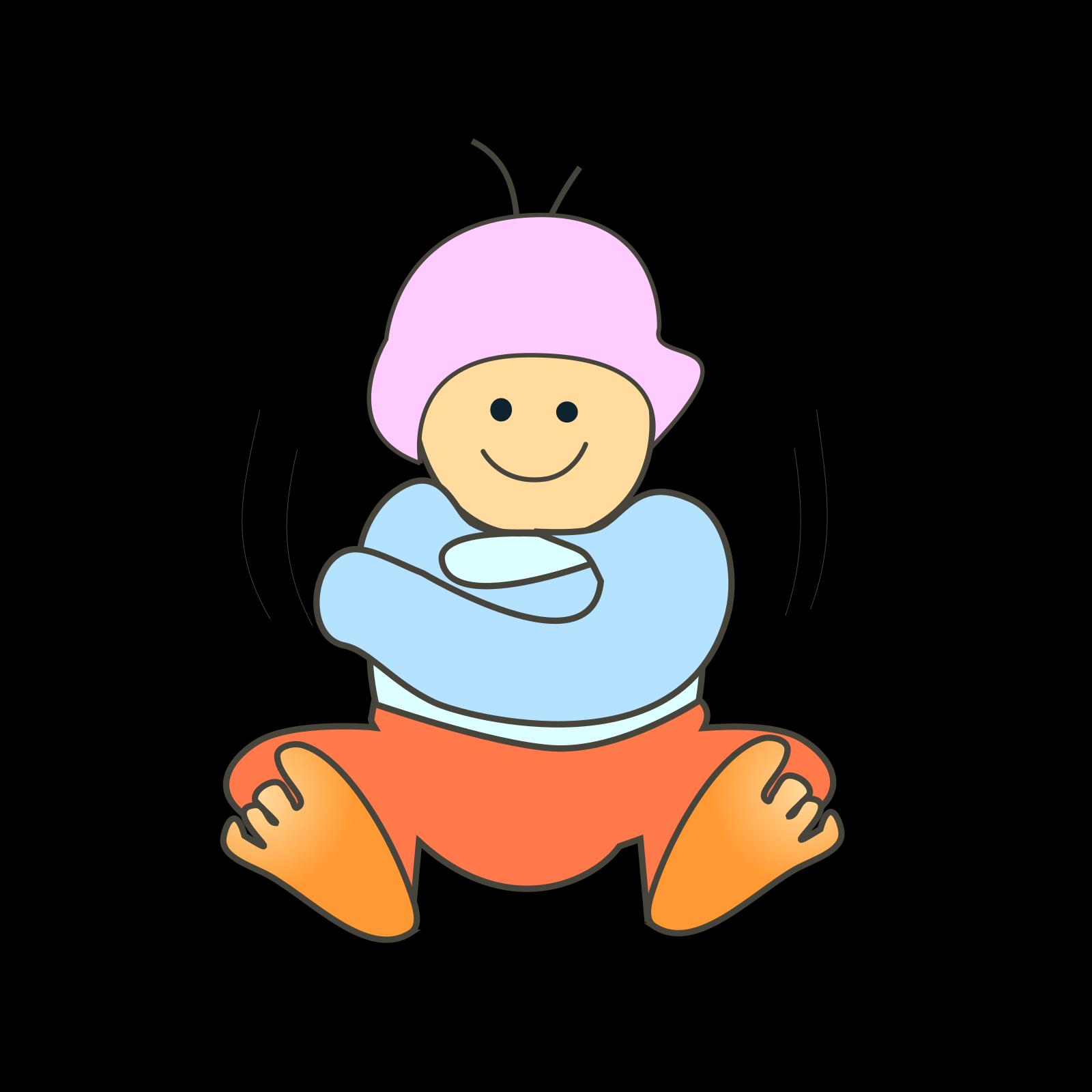 Baby Boy SVG Clip arts
