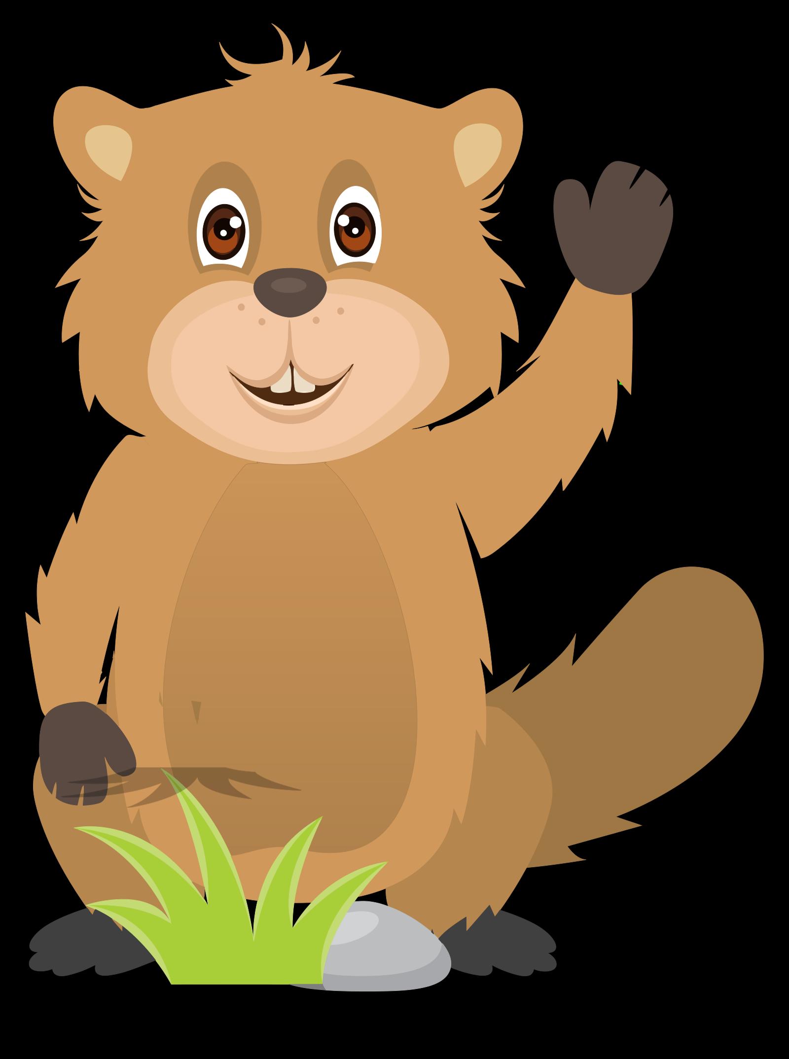Beaver SVG Clip arts