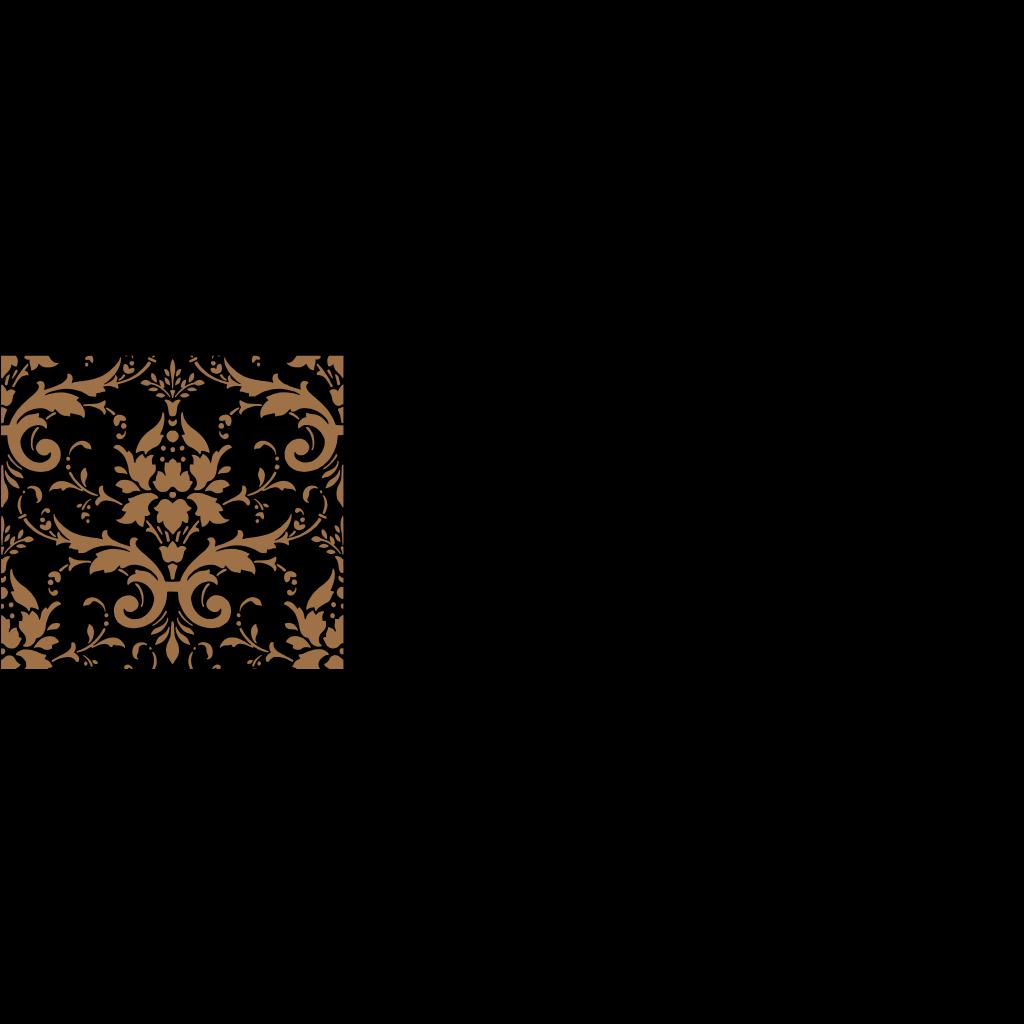Tan Damask SVG Clip arts