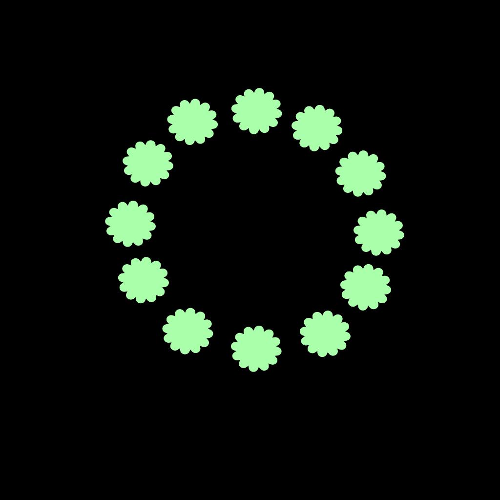 Flower 5 SVG Clip arts