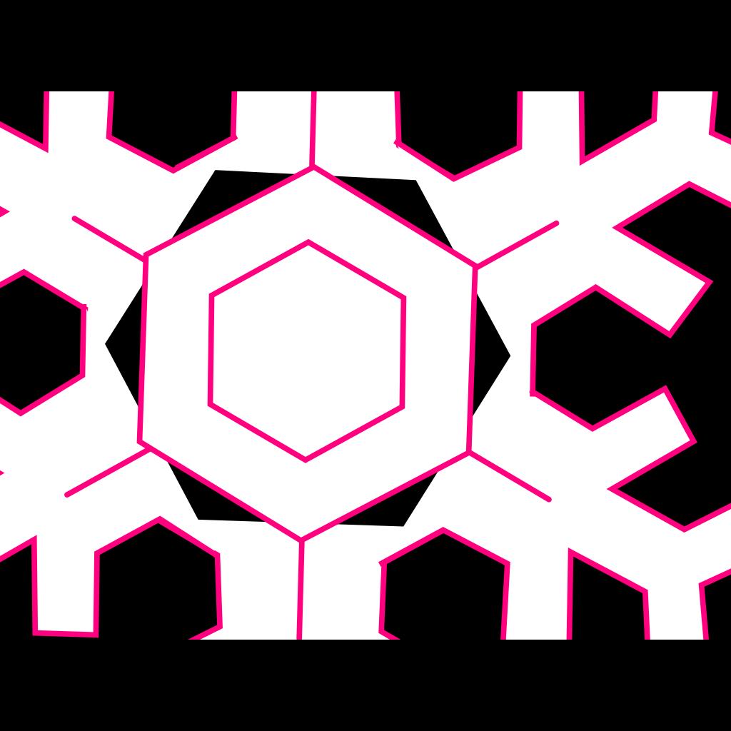 Abstract Lamp And Snowflakes SVG Clip arts