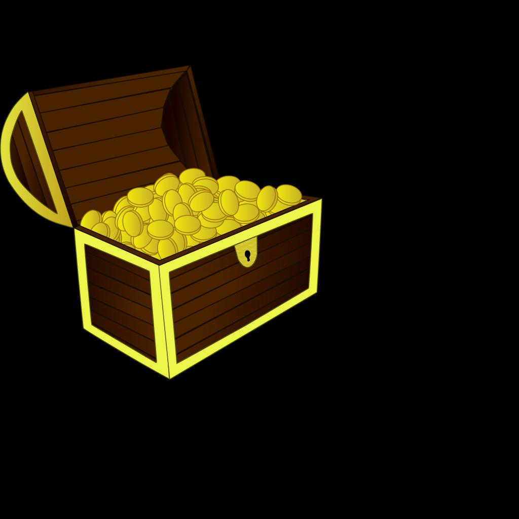 Treasure Chest SVG Clip arts