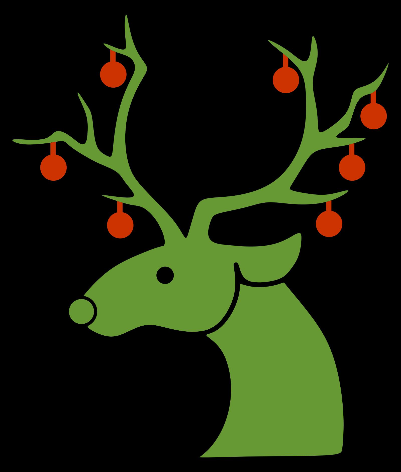 Reindeer SVG Clip arts